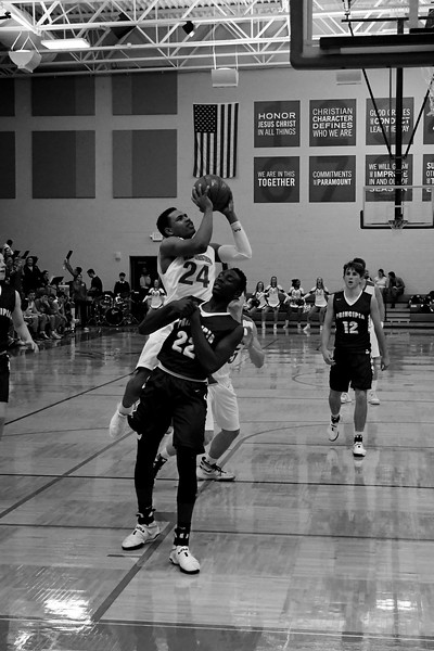 Westminster Varsity Basketball vs Principia 1/27/17