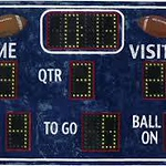 Scoreboard for web