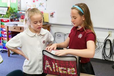 3rd grade visits 4th grade