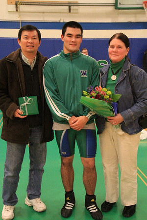 Jan 25 Senior Night 2011
