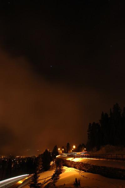 night long exposure
