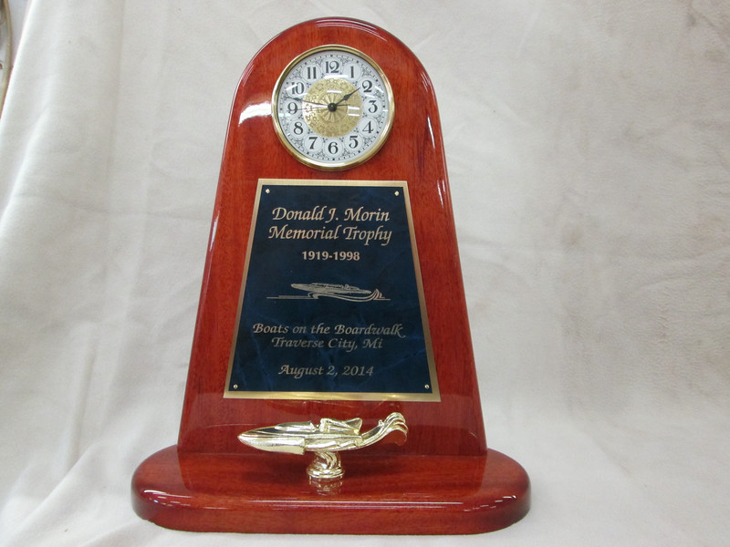 Won this award at the Traverse City Boats on the board walk show in August of 2014.