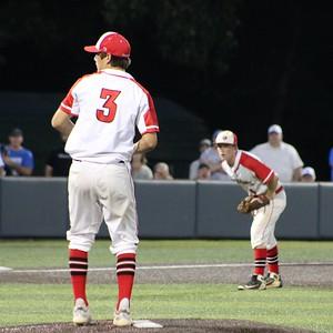 Shelbyville vs Bowie Baseball Regional Semi-Finals