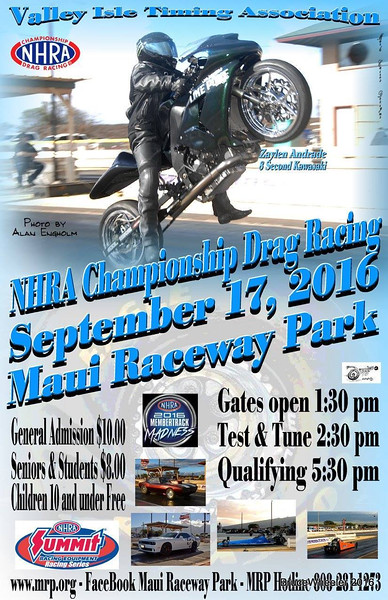 Maui Drags ~ September, 2016