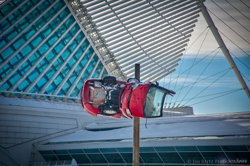 "Milwaukee Art Museum - ""disaster art"""