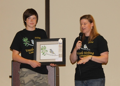 2014 Youth Birding Competition T-shirt Art Contest