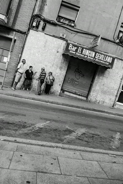 Locals in Barcelona