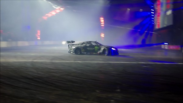 Drift Cars, Live Action Areana, Autosport Show 2020