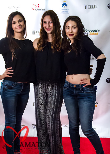 Coronados Got Talent Show Red Carpet