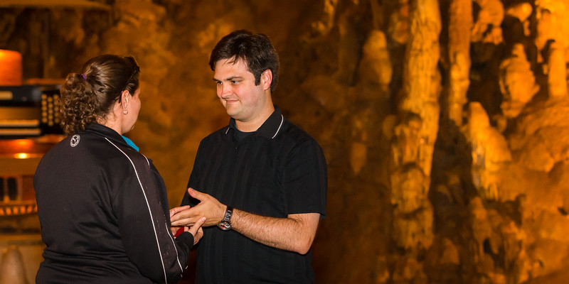 Kevin and Alicia Proposal Luray Caverns 2015529-14