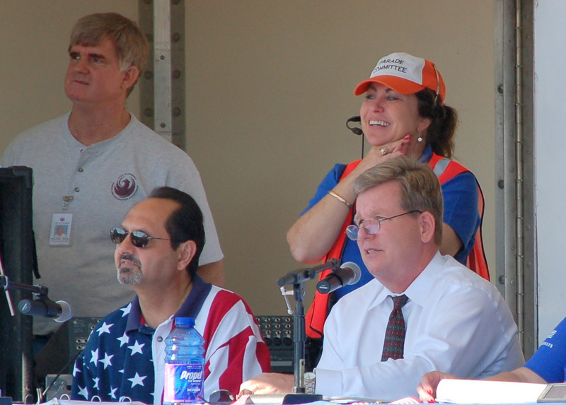 2008 announcers Camelback Jack and Royal Norman