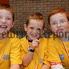 Caolan McCreesh, Liam McKeown and Dominic O'Hanlan in great humour at the Newry and Mourne leisure services summer camp 2006. 06W31N20