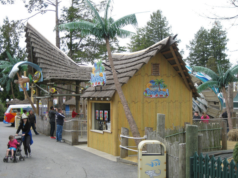Tropical Chillers food stand.