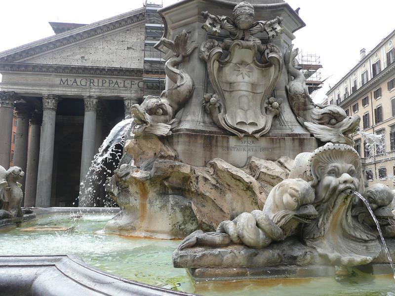 Parthenon Exterior, Rome, f0431115,