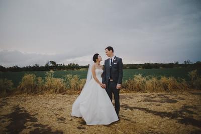 Sooji & Adam. Married