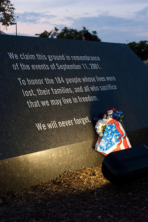 Pentagon Memorial: Tenth Anniversary of September 11