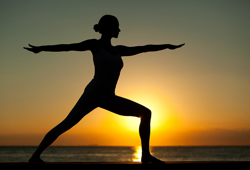 Sunset Yoga at Bill Baggs Cape Florida State Park