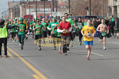 Start 5K Wave 2 - 2013 Corktown Race