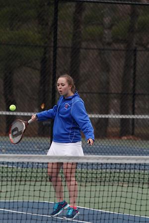 Girls' JV Tennis vs. Brewster: April 23