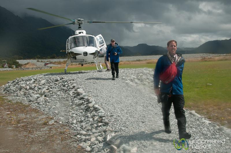 Helicopter Strut - Franz Josef Glacier, New Zealand