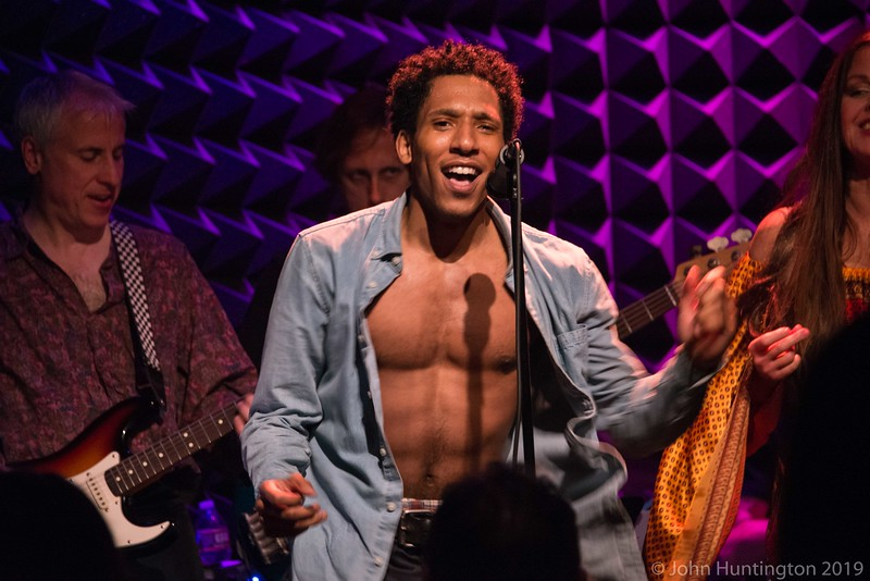 The Losers Lounge tribute to Lionel Richie and the Music of The Commodores at Joe's Pub, April 16, 2016