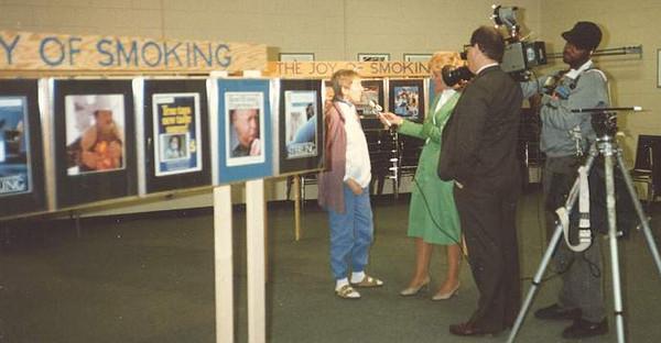 The Joy of Smoking - Art Exhibits  1986 - 1992