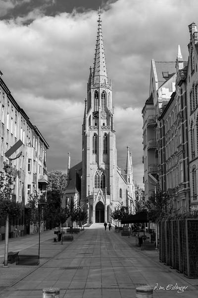 St. Mary's Church in Katowice