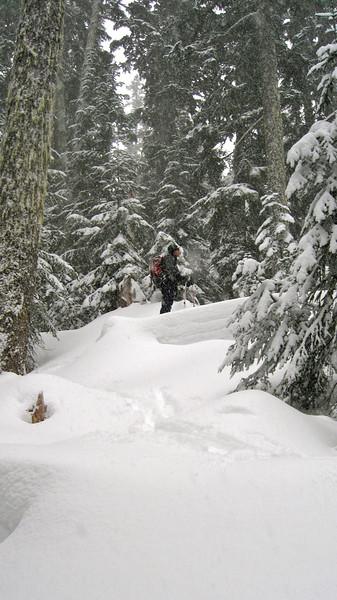 Mt. Catherine Power Ski January 15 2012