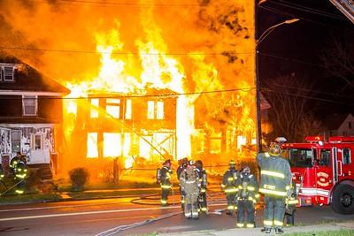 Vacant Dwelling Fire - Sylvester & Van Dyke, Detroit, MI - 4/9/17