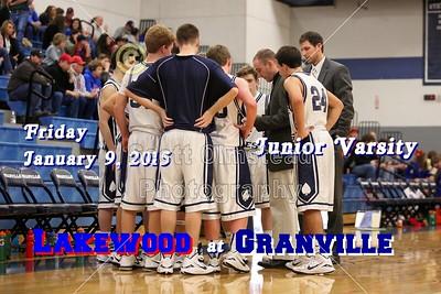 2015 Lakewood at Granville (01-09-15) Junior Varsity