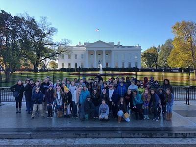 7th Grade Trip to Washington D.C. 2018