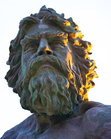 King Neptune Sunrise