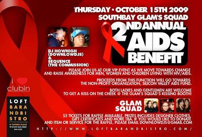 2nd Annual AIDS Benefit @ Loft Bar & Bistro 10.15.09