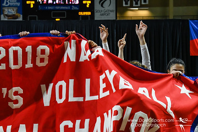 Park Univ. Women's Volleyball - NAIA National Championship Celebration