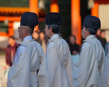 Heian shrine and Setsubon