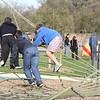 climbing net with kids