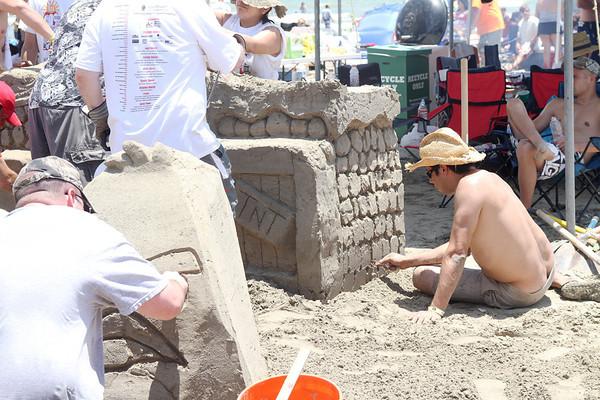20110604 Galveston Sand Castle Competition