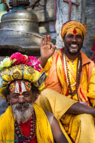 A Hindu Holy Man (Sadhu)