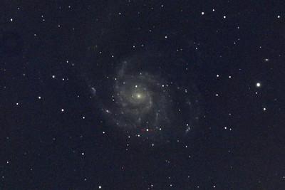 Supernova-PTF11kly in M101