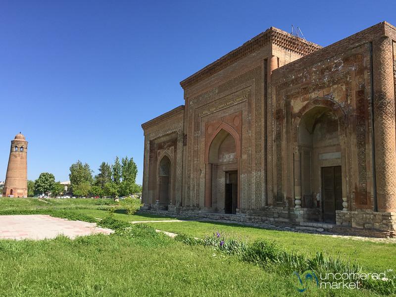 Silk Road Sites of Uzgen, Kyrgyzstan