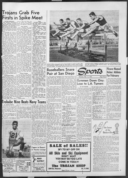 Daily Trojan, Vol. 44, No. 95, March 16, 1953