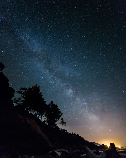 Coastal Milky Way