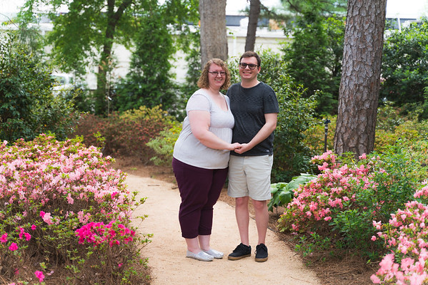 Madeline & Patryk's Engagement Session :: WRAL Azaela Gardens :: AO&JO Photography & Videography (Raleigh Wedding Photographer)