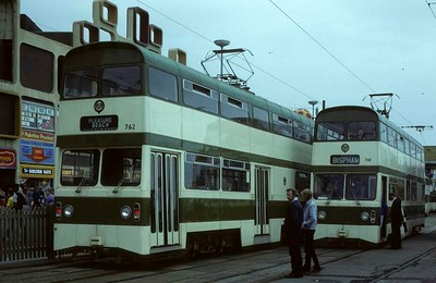 Blackpool trams, 1973 - 1983