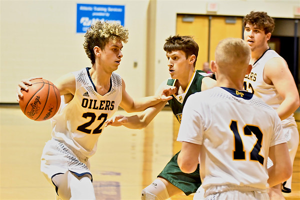 MS Mt. Pleasant vs Midland Dow Boys Basketball
