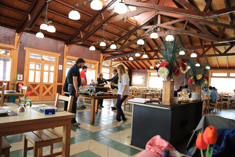 dinning area, great food, really nice people, I could have spent all afternoon there. if your passing there one day stop for lunch or dinner. I don't eat lamb but it was sure looking really good in the BBQ pit. https://www.facebook.com/villamarina.ushuaia?fref=ts edit