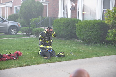 Dearborn - Miller road - House fire