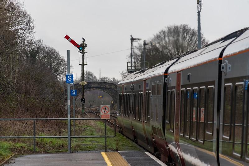 755420 departs Oulton Broad North