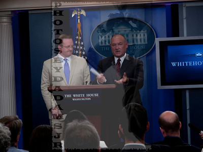 Sky Blue White House Visit