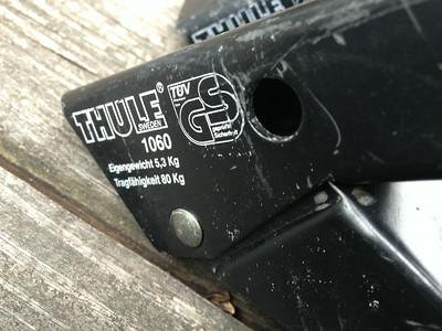 Thule feet locking gutter mount C900